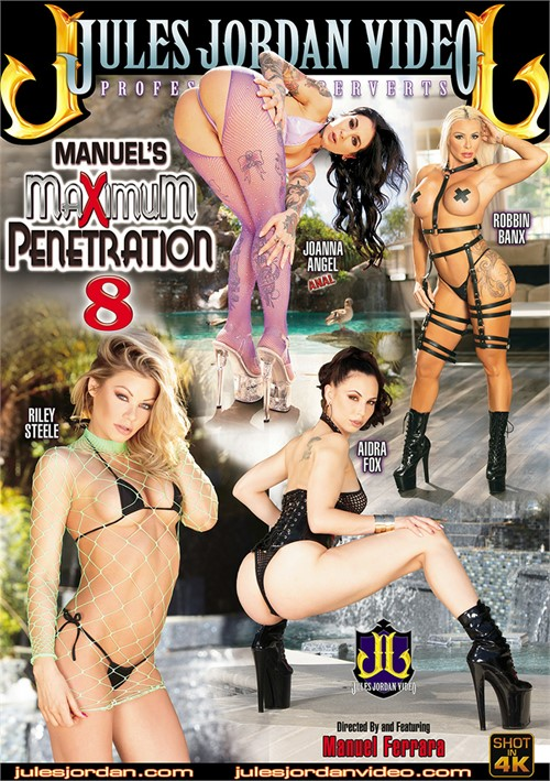 Manuel's Maximum Penetration 8 Boxcover