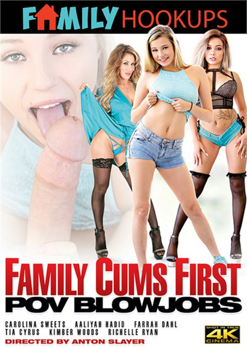 Family Cums First: POV Blowjobs Boxcover