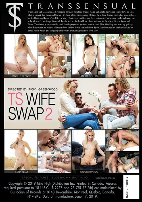 TS Wife Swap 2 Boxcover
