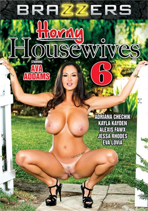 Horny Housewives 6 Boxcover