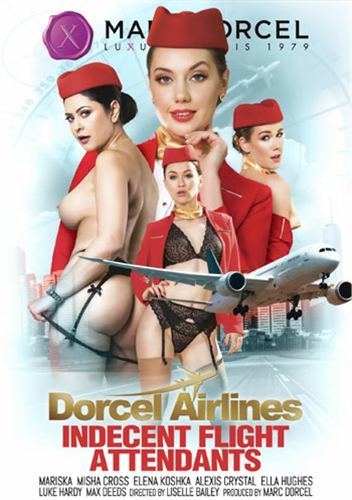 Dorcel Airlines: Indecent Flight Attendants Boxcover