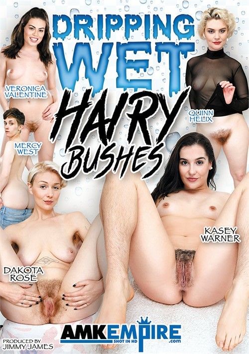 Dripping Wet Hairy Bushes Boxcover