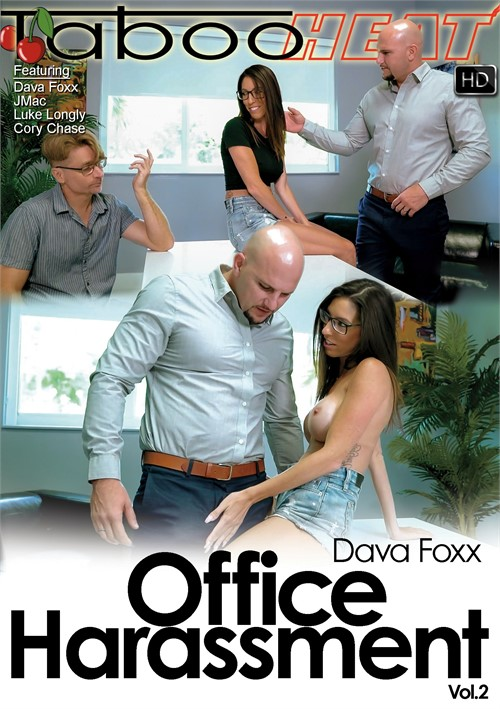 Dava Foxx in Office Harassment Vol. 2 Boxcover
