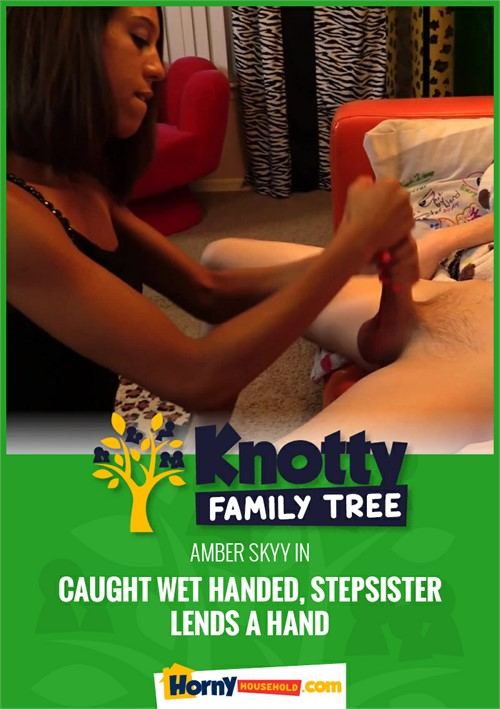 Caught Wet Handed, Stepsister Lends A Hand