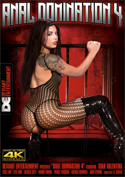 Anal Domination 4 Boxcover