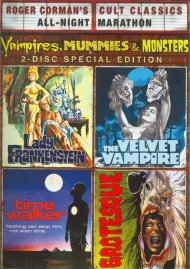 Lady Frankenstein / Time Walker / The Velvet Vampire / Grotesque (Vampires, Mummies And Monsters Collection) Porn Movie