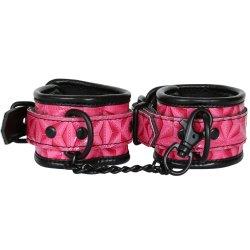 Sinful Wrist Cuffs - Pink