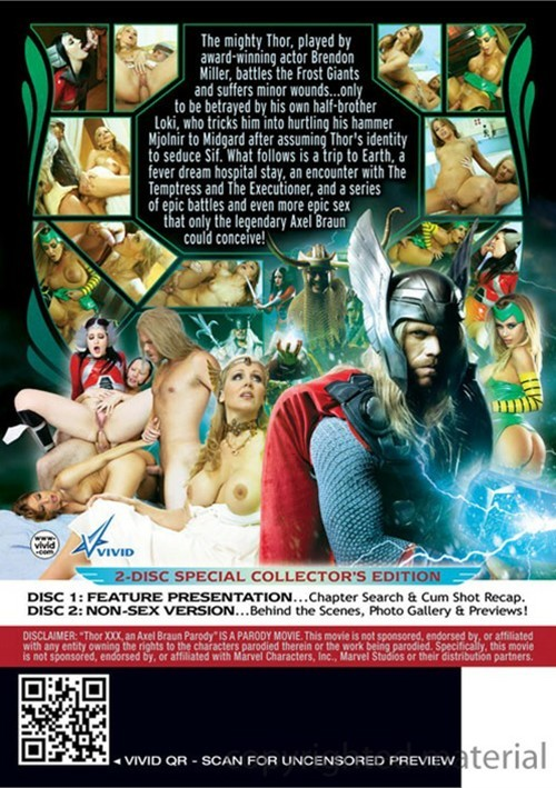 Thor Xxx An Axel Braun Parody 2013  Adult Dvd Empire-7353
