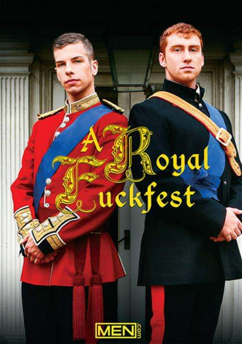 A Royal Fuckfest Cover Front