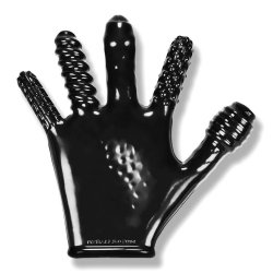Finger Fuck Glove - Black