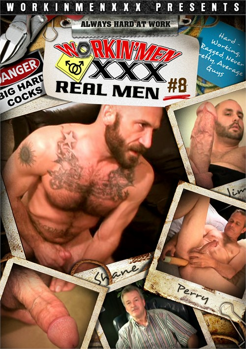 Real Men 8 Boxcover