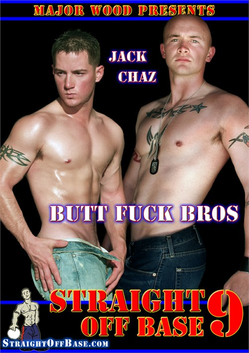 Straight Off Base 9: Butt Fuck Bros Boxcover