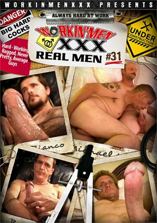 Real Men 31 Boxcover