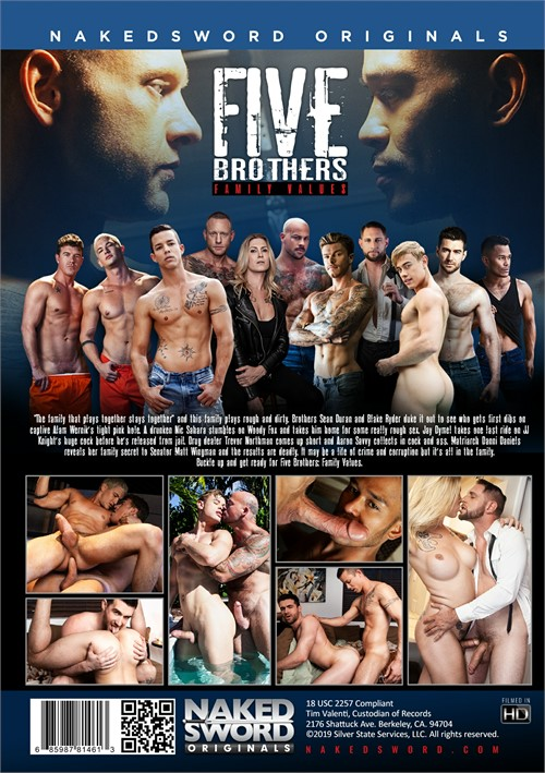 Five Brothers Family Values Cover Back