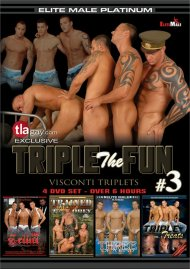 Triple the Fun 3: Visconti Triplets Gay Porn Movie