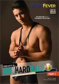 Mr. Hardball Part 1 gay porn DVD from Peter Fever.