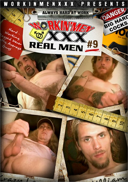 Real Men 9 Boxcover