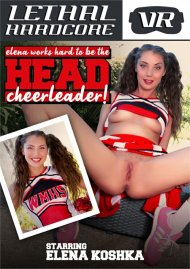 Elena Works Hard to Become the Head Cheerleader Porn Video