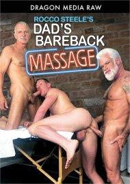 Rocco Steele's Dad's Bareback Massage Porn Video