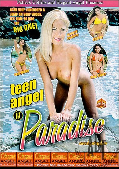 Teen Angel in Paradise Boxcover