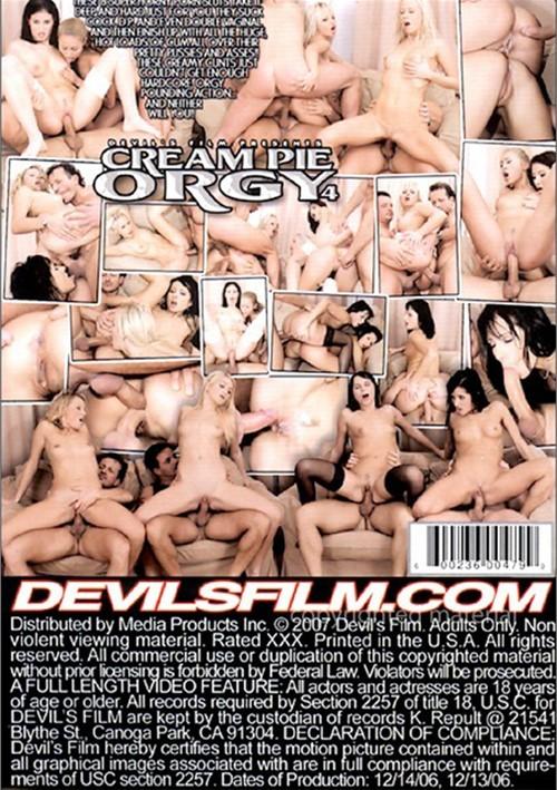 Cream Pie orgie 4