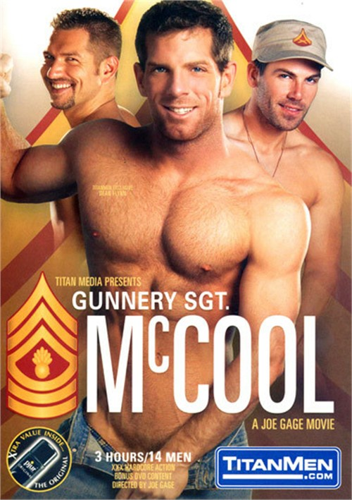 Gunnery Sgt. McCool Cover Front