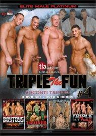 Triple the Fun 4: Visconti Triplets Gay Porn Movie