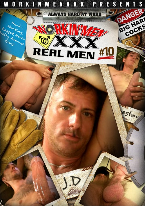Real Men 10 Boxcover