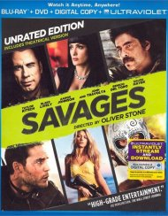 Savages (Blu-ray + DVD + Digital Copy + UltraViolet) Gay Cinema Movie