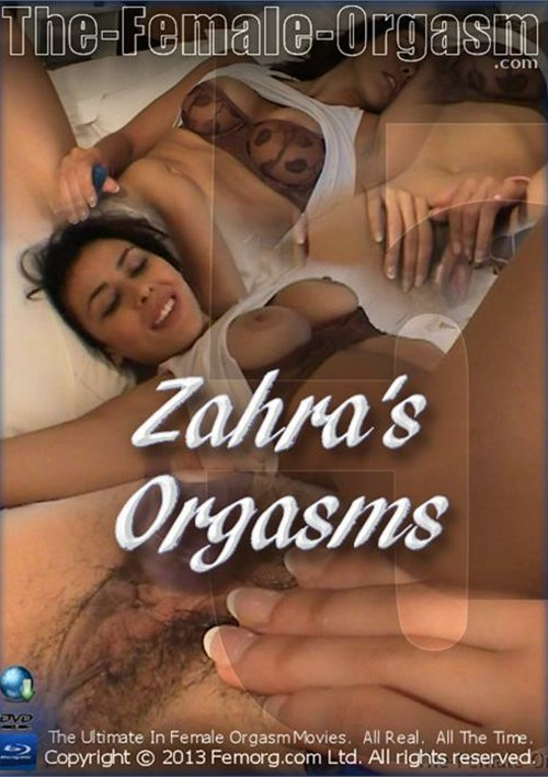 Zahra and orgasm