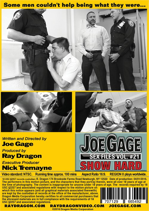 joe gage sex files show hard dragon media gay porn