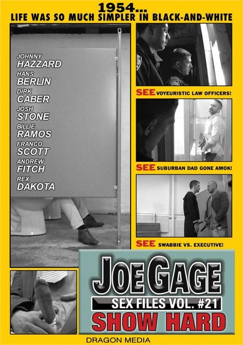 Joe Gage Sex Files 21: Show Hard Boxcover