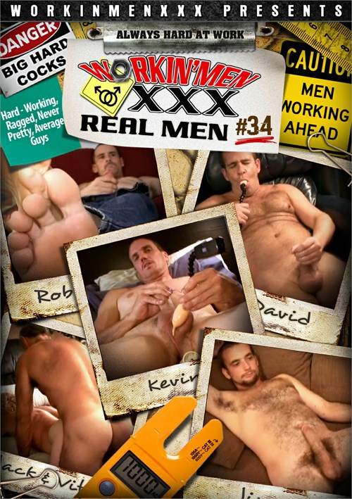 Real Men 34 Boxcover