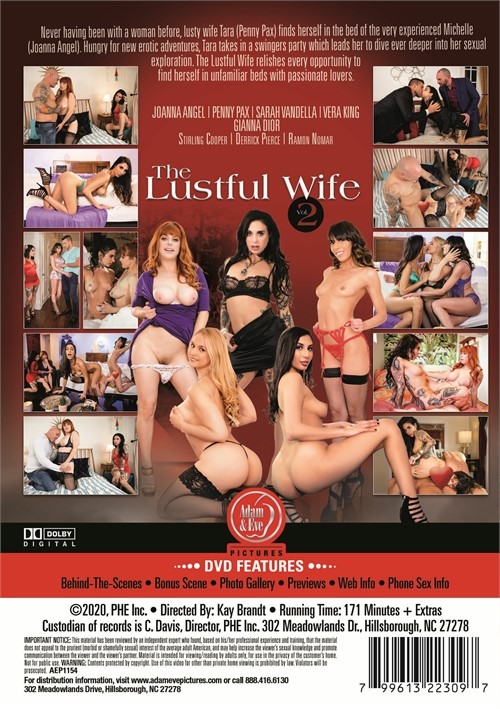 Lustful Wife, The Vol. 2 Boxcover