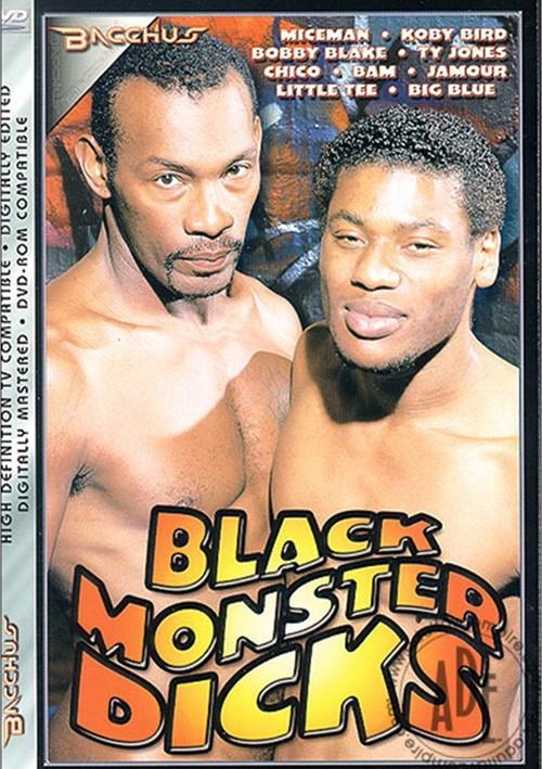 Black Monster Dicks Boxcover