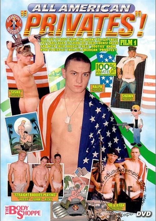 """All American """"Privates""""! Film 1 Boxcover"""