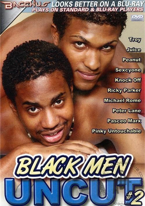 Black Men Uncut #2 Boxcover