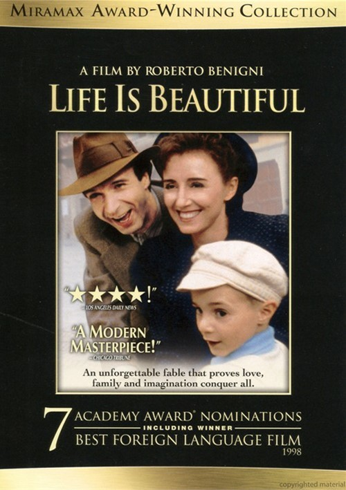 life is beautiful a summary Life is beautiful i list of characters  guido orefice-a jewish-italian bookstore ownerdora's husband ii summary guido, and ferruccio, rocket down a country slope, the brakes on their old car having given way they pass through a parade, and the audience is immediately aware of where we.