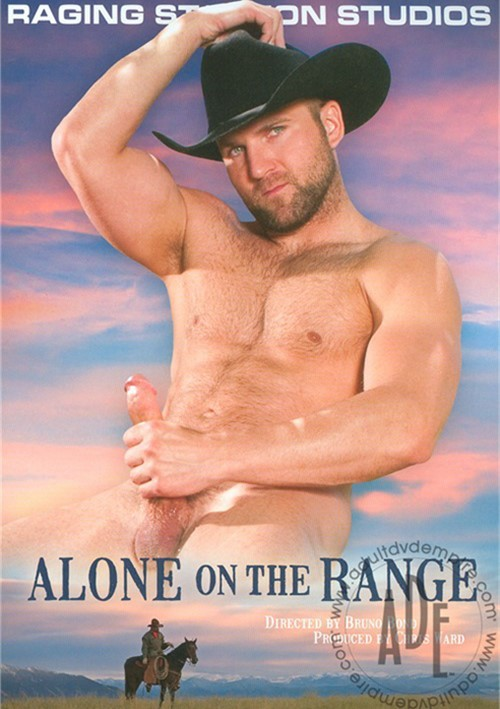 Alone on the Range Cover Front