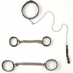 Rapture: 5 Piece Stainless Steel Bondage Set - Large