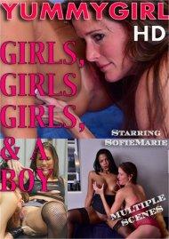 Girls, Girls, Girls & A Boy Porn Video