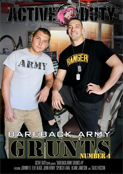 Bareback Army Grunts 04 Cover Front