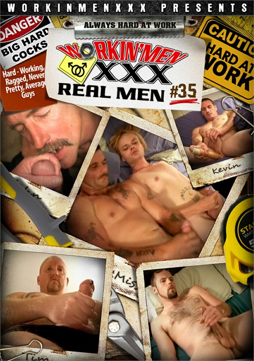Real Men 35 Boxcover