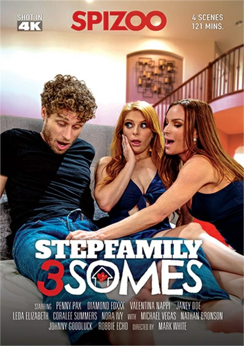 Stepfamily 3somes Boxcover