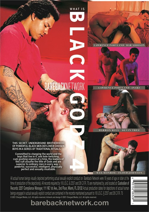 Black Godz 4 Cover Back