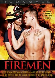 Firemen gay porn DVD from Icon Male