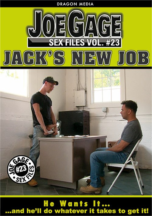 Joe Gage Sex Files 23: Jack's New Job Boxcover