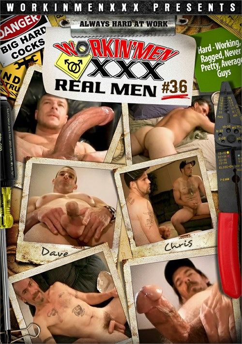 Real Men 36 Boxcover