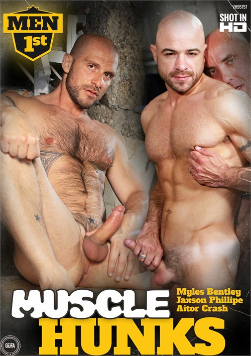 Muscle Hunks Boxcover