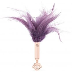 Fifty Shades Freed: Cherished Collection Feather Tickler With Purple and Gold Handle Sex Toy